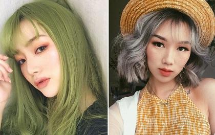 """Các cô nàng sành điệu nhất châu Á đang thi nhau nhuộm 6 màu tóc """"chất hơn nước quất"""" này bạn đã biết chưa?"""