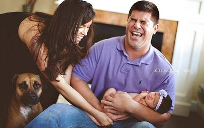18 khoảnh khắc dở khóc dở cười của các phụ huynh có trẻ sơ sinh