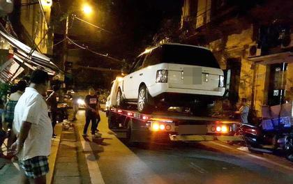 Hà Nội: Chơi đùa cùng anh trai, cháu bé 19 tháng tuổi bị xe Range Rover tông tử vong