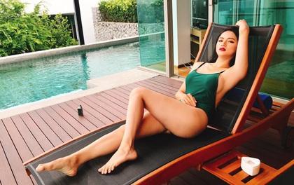 Trở lại sau scandal vạ miệng, Hương Giang Idol diện bikini nóng bỏng hết cỡ!