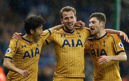 Harry Kane ghi 4 bàn vào lưới nhà cựu vô địch Ngoại hạng Anh