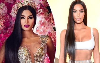 Tân Hoa hậu Venezuela bỗng được chú ý vì sở hữu nhan sắc giống hệt Kim Kardashian