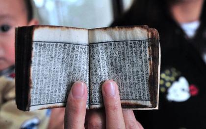 """Cuốn sách tí hon chứng tỏ các sĩ tử Trung Quốc thời xưa đã biết dùng """"phao"""" quay bài"""
