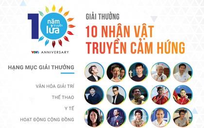 """Thầy Trần Bình Phục, VĐV Hoàng Xuân Vinh tiếp tục trở thành đề cử """"Nhân vật truyền lửa"""" nhân kỉ niệm 10 năm thành lập VTV6"""