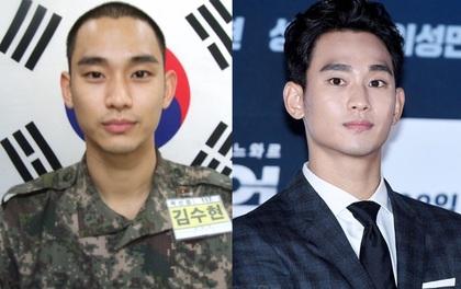 """Có ai như Kim Soo Hyun trong quân đội: Ảnh chân dung ngố tàu nhưng vẫn điển trai đến mức """"gây sốt"""""""