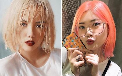 Trong lúc bạn không để ý, loạt hot girl Việt đã có màn đổi tóc cực ấn tượng chào hè
