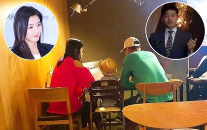 """Giàu """"nứt đố đổ vách"""", Jeon Ji Hyun, chồng CEO và quý tử lại dung dị như thế này vào Ngày của bố"""