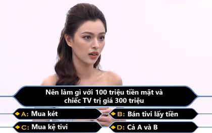 """Nhận được 100 triệu và Tivi 300 triệu: Quán quân """"The Face"""" Tú Hảo nên..."""