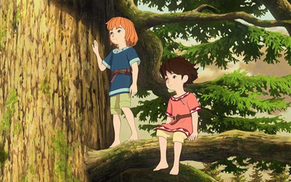 Ghibli Studio tiếp tục đề cao tiếng nói của trẻ em bằng series Ronja