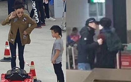 Trương Bá Chi lủi thủi chăm con trong lúc Tạ Đình Phong mải ôm hôn Vương Phi