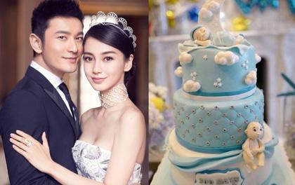Sau loạt lùm xùm, vợ chồng Angela Baby - Huỳnh Hiểu Minh mở tiệc mừng 100 ngày tuổi cho quý tử
