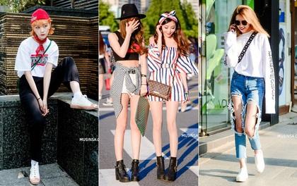 """Chẳng phải ngẫu nhiên giới trẻ Hàn được khen là mặc đẹp nhất châu Á, cứ ngắm street style hè siêu """"đỉnh"""" của họ là rõ"""