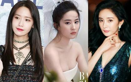 """Netizen Hàn bầu chọn """"Top 10 nữ thần châu Á"""": Kim Tae Hee vắng mặt, Lưu Diệc Phi """"đội sổ"""""""