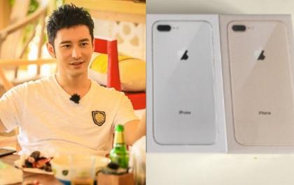 """Tag ngay sếp của bạn! Huỳnh Hiểu Minh tặng nhân viên toàn iPhone 8, còn nói 1 câu khiến netizen """"tan chảy"""" vì quá đỗi tâm lý"""