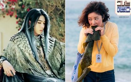 """""""Bái lạy"""" ai nghĩ ra tạo hình """"kinh hoàng"""" cho loạt nhân vật phim Hàn này!"""