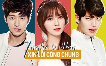 """7 nghệ sĩ Hàn từng phải xin lỗi công chúng vì """"gây họa"""" cho phim"""