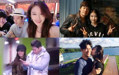 """Các mối tình """"chú - cháu"""" trong giới showbiz Hàn đang có dấu hiệu... tan vỡ đồng loạt?"""
