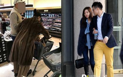 """""""Mợ chảnh"""" Jeon Ji Hyun gây tranh cãi khi mặc đồ sang chảnh đi mua sắm cùng chồng CEO"""