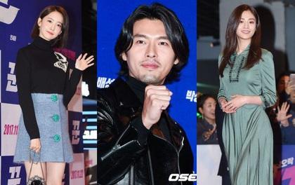 """Sự kiện gây sốt: Cặp đôi """"Reply 1988"""" bất ngờ đụng độ, Yoona cùng dàn tài tử, idol siêu hot đến ủng hộ Hyun Bin"""