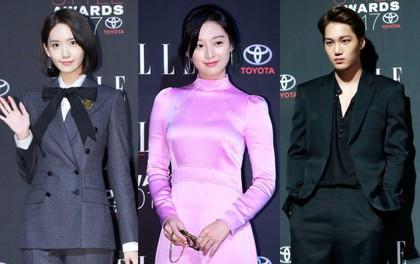 Thảm đỏ quy tụ dàn sao quyền lực: Yoona sang chảnh, nữ thần Kim Ji Won đẹp xuất sắc nhưng lại mặc gì thế này?