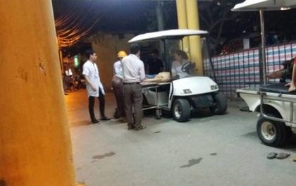 Hà Nội: Sập giàn giáo tại dự án khu chung cư cao cấp, 3 người bị thương