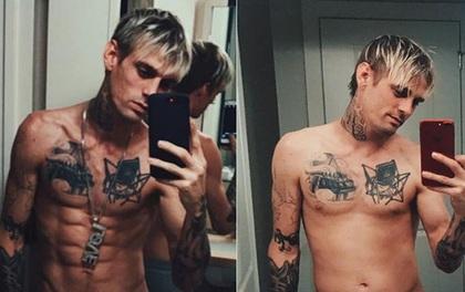 Tăng 13,6 kg sau 2 tuần, Aaron Carter lột xác khỏi hình ảnh nghiện ngập gầy gò