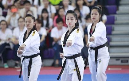 Hot girl làng võ Châu Tuyết Vân vào BCH Liên đoàn Taekwondo
