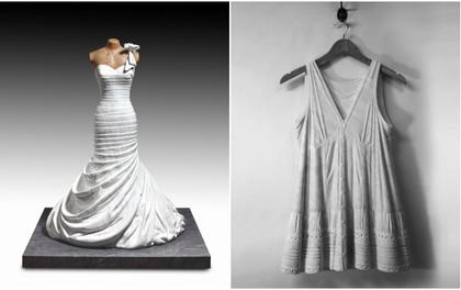 Ngắm bộ sưu tập váy duyên dáng được điêu khắc từ đá cẩm thạch