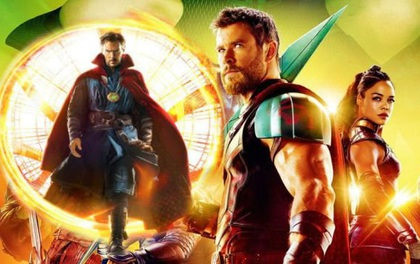"""Doctor Strange bất ngờ xuất hiện trong trailer mới của """"Thor: Ragnarok"""""""