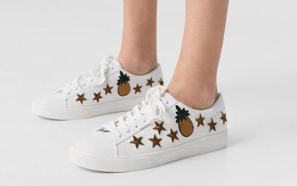 Không có tiền mua Gucci thì hãy thử 5 mẫu giày thêu giá rẻ này