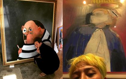 """Hết T.O.P, đến lượt G-Dragon """"chơi sang"""" khi lộ bộ sưu tập tranh trị giá hàng chục tỉ"""