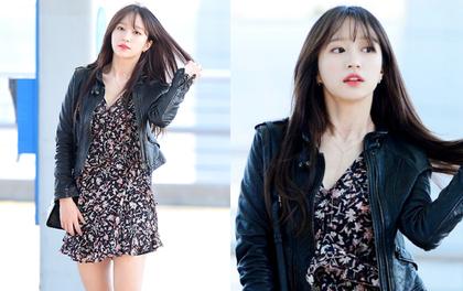 Chỉ bằng vài cái hất tóc, mỹ nhân này đã vươn lên đẳng cấp nhan sắc nữ thần của Suzy và Yoona