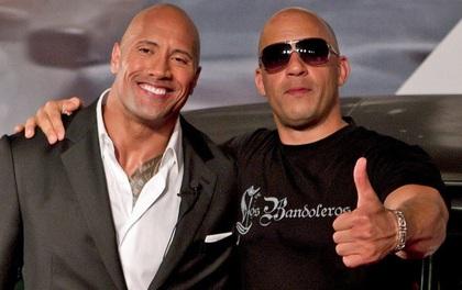 """""""Fast & Furious 9"""" bị trì hoãn đến 2020 do bất hòa giữa The Rock và Vin Diesel?"""