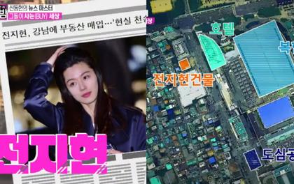 Tậu nhà 650 tỉ, Jeon Ji Hyun vượt mặt cả chủ tịch YG trong top 3 đại gia nhà đất của showbiz Hàn