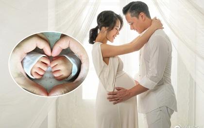 Vợ chồng Hồ Hạnh Nhi hạnh phúc thông báo hạ sinh quý tử đầu lòng