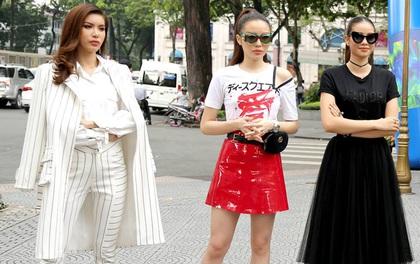 """Chịu khó đầu tư ăn mặc nổi bật thế này, chắc gì Kỳ Duyên đã """"ngán"""" Phạm Hương với Minh Tú!"""