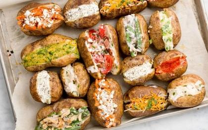 """""""Biến hoá"""" khoai tây trở thành món ăn hạng sang chỉ với vài bước nhỏ"""
