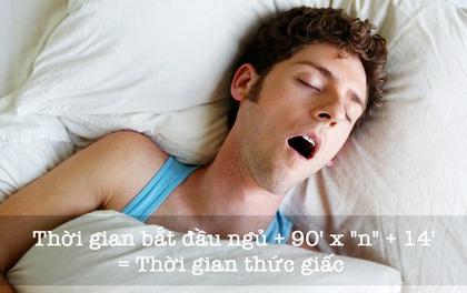 Công thức giúp bạn ngủ bất cứ lúc nào cũng có thể thức dậy tỉnh táo vào hôm sau