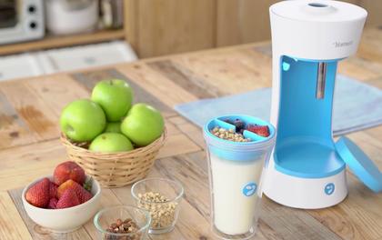 Chiếc máy giúp bạn làm sữa chua vừa đơn giản, vừa tiết kiệm thời gian
