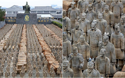 """Hết cái để """"fake"""", người Trung Quốc nhái luôn cả đội quân đất nung trong lăng mộ Tần Thuỷ Hoàng"""