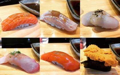Có gì bên trong cửa hàng sushi vỏn vẹn... 4 chỗ ngồi nhưng vẫn nườm nượp khách?