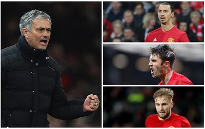 Mourinho quyết định tương lai 11 cầu thủ Man Utd hè này