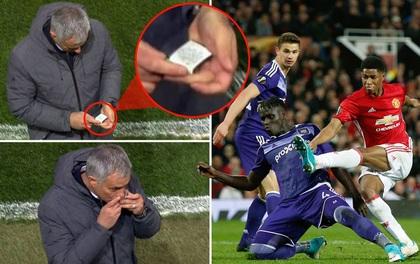 """Mourinho có """"bùa may mắn"""" để giúp Man Utd chiến thắng?"""