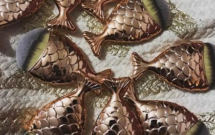 Chổi trang điểm hình con cá siêu sang chảnh khiến phái đẹp điên đảo