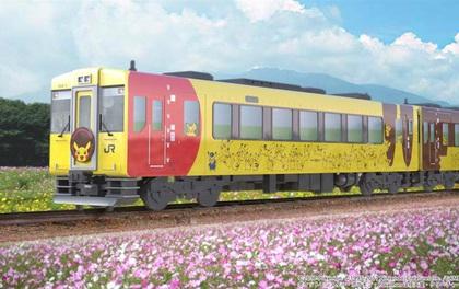 Nhật Bản với dự án xe lửa Pikachu siêu dễ thương phục vụ fan của Pokemon