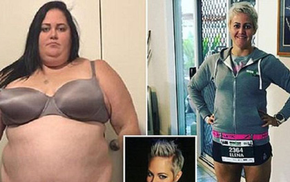 Không cần phẫu thuật thẩm mỹ, cô gái quyết tâm cai nghiện đồ ăn nhanh và giảm được 115kg chỉ trong vòng 1 năm