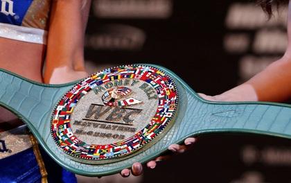 Chiếc đai vô địch có một không hai được trao trong trận đấu tỷ đô Mayweather - McGregor
