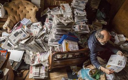 Rùng mình căn phòng của người đàn ông thích sưu tập rác thải: Đồ không dám vứt, rác chất thành đống