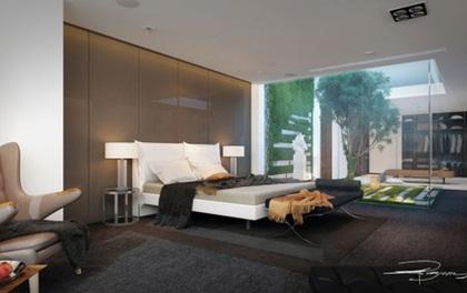 14 mẫu phòng ngủ rộng rãi dành cho người yêu kiến trúc