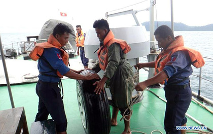 Tìm thấy 29 thi thể nạn nhân máy bay Myanmar